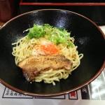 おっくん堂_広島名物まぜ麺!炙りチャーシューと温泉タマゴが決めて