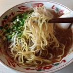 らーめんもりかわ_魚粉パンチ!魚介系スープのラーメン「さんま×醤油」