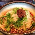 麺やすずらん亭_こってりしたタレと旨味のある挽き肉がマッチ!山椒がピリ辛の汁なし坦坦麺
