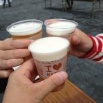 速報!地ビールフェスタinひろしま2014_お昼からのビールは、格別の美味しさ