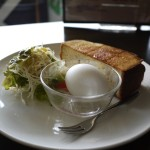 カフェGROW(グロウ)_早起きしてでも食べたい!もっちり厚切りトーストのモーニング
