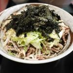 MATuNo屋(まつの屋)_新感覚!蕎麦にラー油!?辛旨ラー油蕎麦