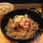 蕎麦高田_手打ちの美味しさ!出汁をかけて辛味大根と食べるおろしそば