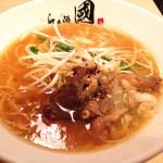 らぁ麺 國_広島しか食べれないコウネを使用!和牛コウネラーメン