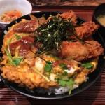 広島酒呑童子_最強のコラボ丼!牡蠣と穴子が一度に楽しめる激旨ランチ