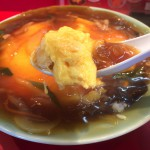 蓬莱(ほうらい)並木通り店_ボリューム満点!ふわとろの玉子と餡がとても美味しい天津丼