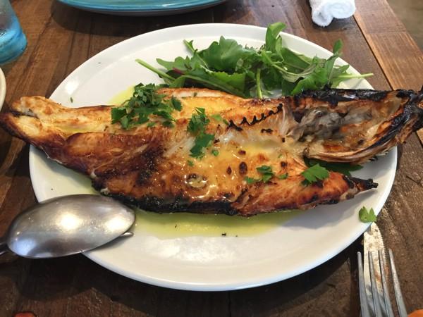 ポリポ_魚料理May 25 2015