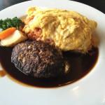 アルカフェ コナミ_アルパークにある洋食屋!オムライスとハンバーグを一度に楽しめるコンビメニュー